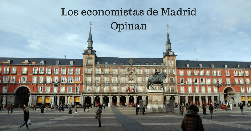 Los economistas madrileños opinan