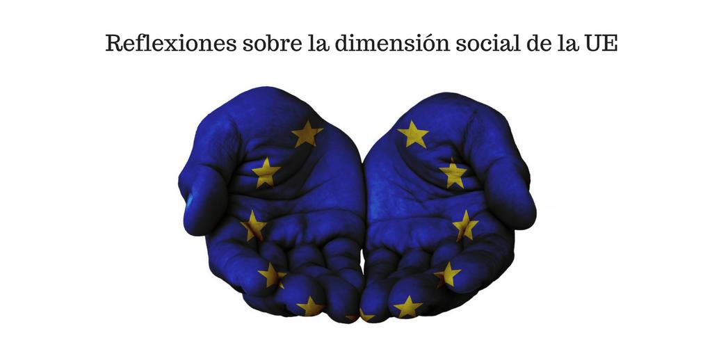 Dimensión social de la Unión Europea