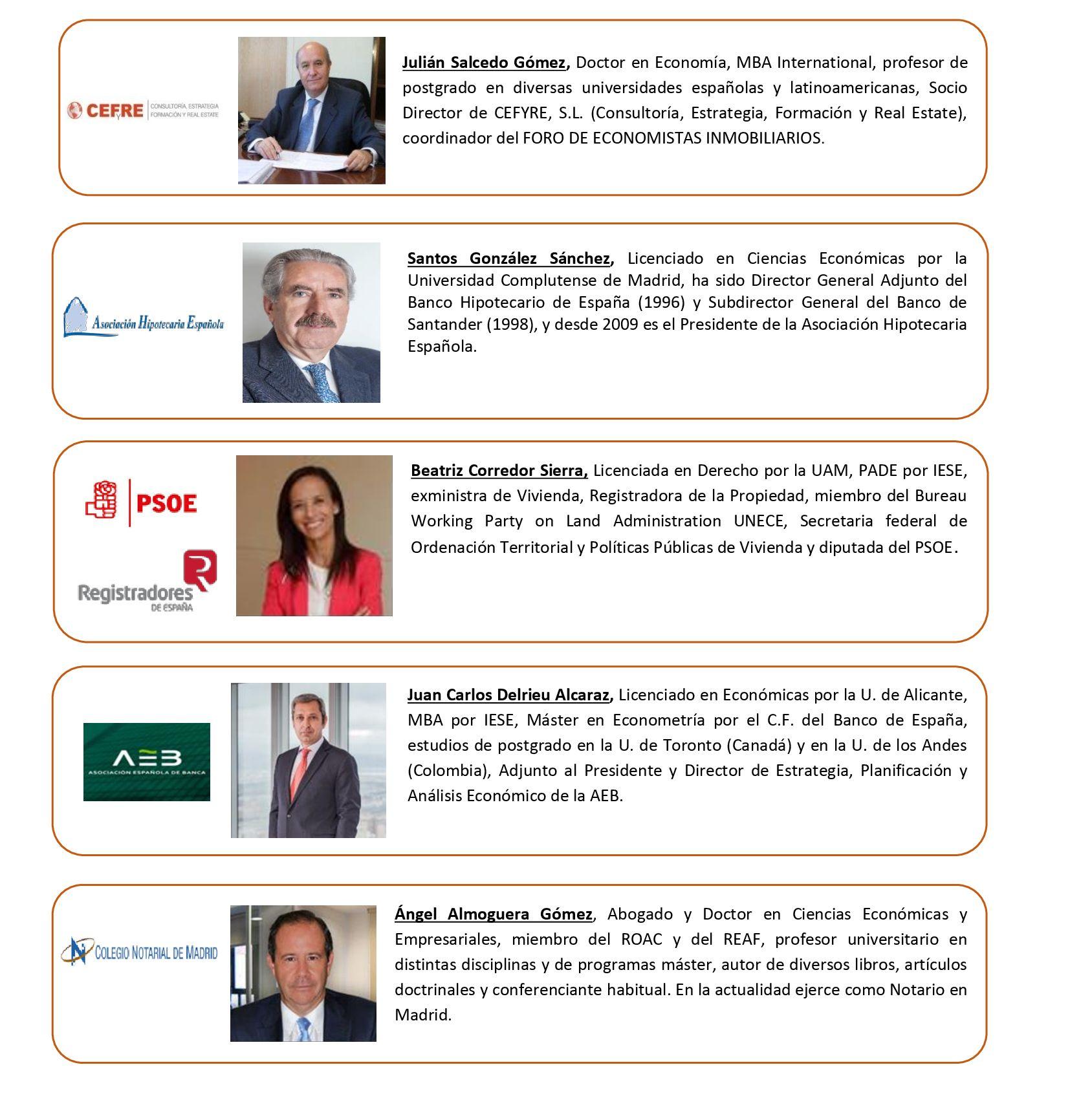 Valores de propiedad en España por región