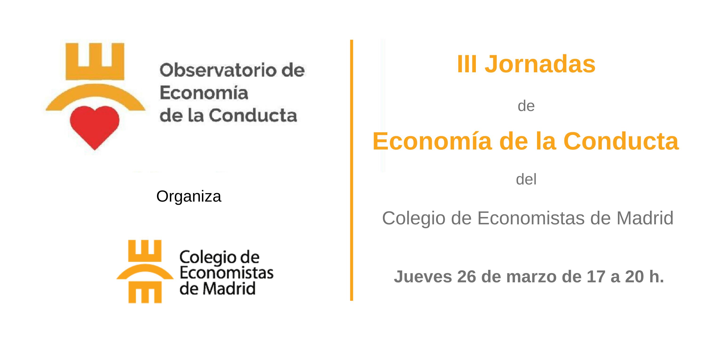 III Jornadas de Economía de la Conducta