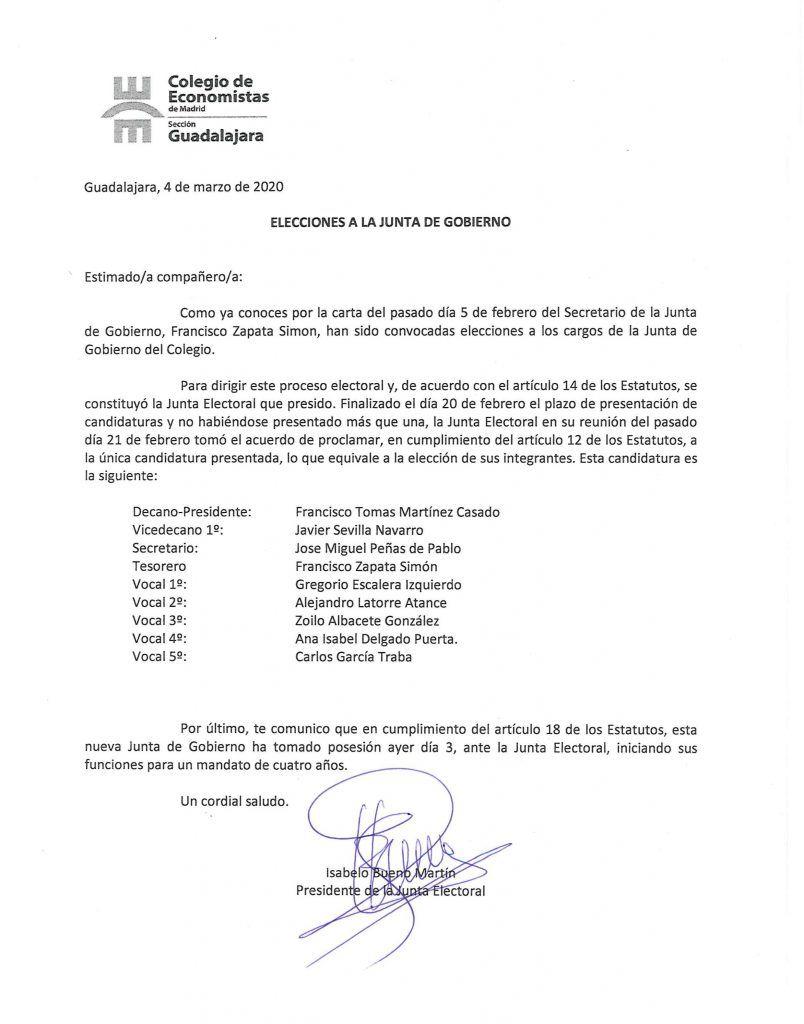 Junta de Gobierno