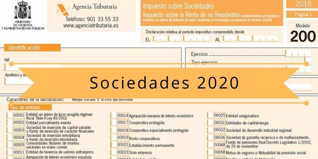 Novedades en eI Impuesto sobre Sociedades 2020