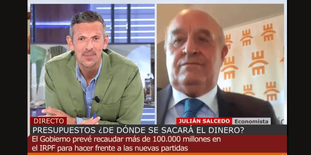 El Colegio de Economistas de Madrid en Cuatro al día